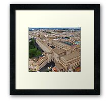 Museums in the Vatican City Framed Print