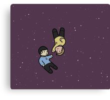 Small Spirk Canvas Print