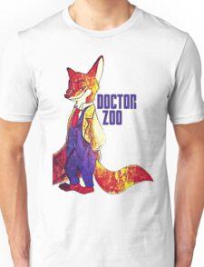 Doctor Zoo: Zootopia/Doctor Who Nick Wilde Crossover Unisex T-Shirt