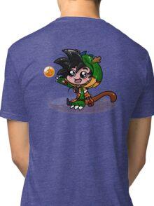 Lil' Dragon Goku Tri-blend T-Shirt