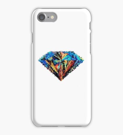 Abstract Diamond iPhone Case/Skin