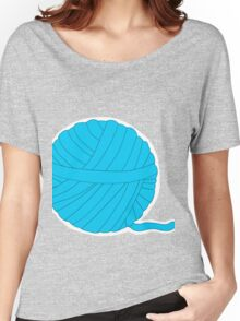 Ball of Yarn - Itty Bitty Kitty  Committee Collection Women's Relaxed Fit T-Shirt