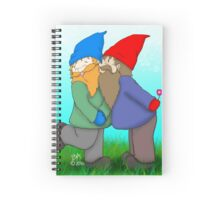 Gnomes In Love Spiral Notebook
