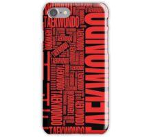 Taekwondo Thypho 2 - Korean Martial Art iPhone Case/Skin