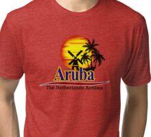 The Netherlands Antilles, Aruba Tri-blend T-Shirt