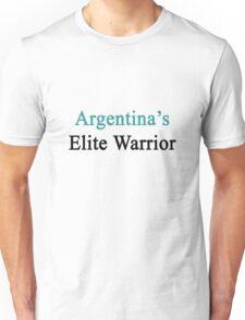 Argentina's Elite Warrior  Unisex T-Shirt