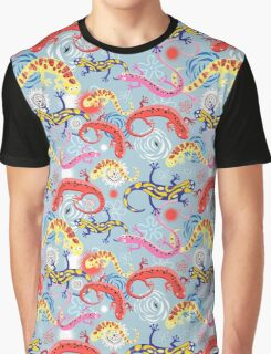 Graphic pattern Beautiful salamander Graphic T-Shirt