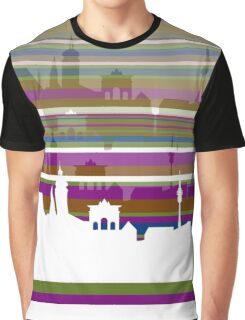 Munich lines 3 Graphic T-Shirt
