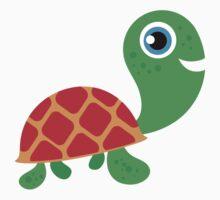 Cute Reptiles Turtle Baby Tee