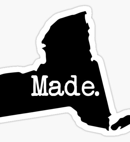 New York Home NY Made NYC  Sticker
