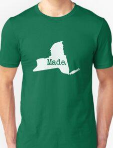 New York Home NY Made NYC  Unisex T-Shirt