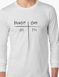 House MD VS GOD Long Sleeve T-Shirt
