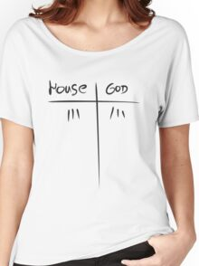 House MD VS GOD Women's Relaxed Fit T-Shirt