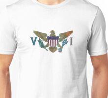 U.S. Virgin Islands Nebula Unisex T-Shirt