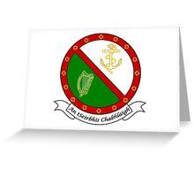 Irish Naval Service Greeting Card