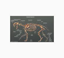 Smilodon Populator Skeletal Study T-Shirt