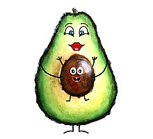 Babyseed Avocado  Photographic Print