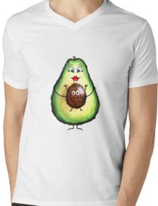 Babyseed Avocado  Mens V-Neck T-Shirt