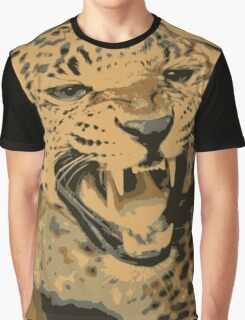 Wild leopard in 7 colors Graphic T-Shirt