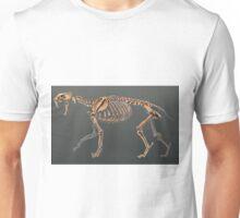 Smilodon Populator Skeletal Study No Labels Unisex T-Shirt