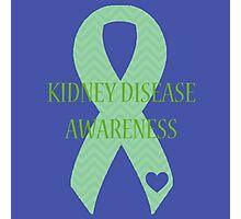 Kidney Disease - Chevron Photographic Print