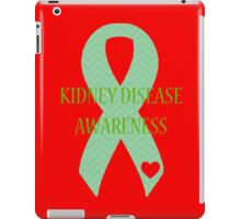 Kidney Disease - Chevron iPad Case/Skin