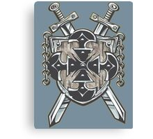 Hero's Coat of Arms Canvas Print
