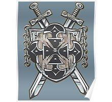 Hero's Coat of Arms Poster