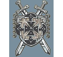 Hero's Coat of Arms Photographic Print
