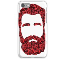 Flower Beard iPhone Case/Skin