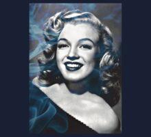 Marilyn Monroe with a bit of smoke Kids Tee
