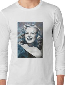 Marilyn Monroe with a bit of smoke Long Sleeve T-Shirt