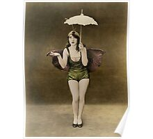 Victorian Circus Performer Poster