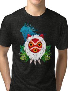 Mononoke Mask Tri-blend T-Shirt