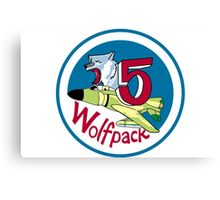 Wolfpack - Cadet Squadron 5 Canvas Print