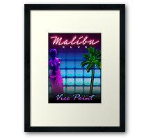 Malibu Club VC Framed Print
