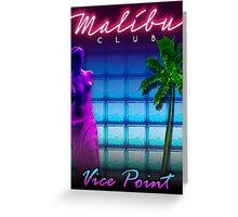 Malibu Club VC Greeting Card