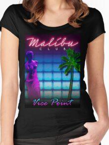 Malibu Club VC Women's Fitted Scoop T-Shirt