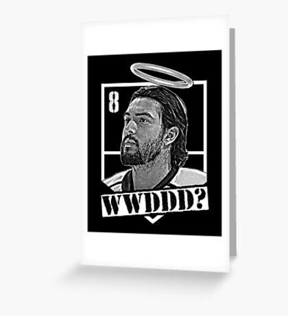 WWWDDD? Drew Doughty Halo Tee - LA Kings Greeting Card