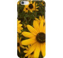 yellow flower power iPhone Case/Skin