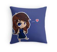 Chibi Belle! Throw Pillow