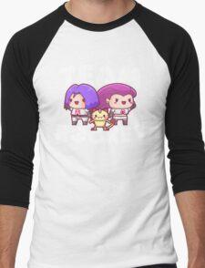 Chibi Team Rocket - Pokemon Men's Baseball ¾ T-Shirt
