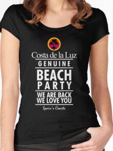 Costa de la Luz Women's Fitted Scoop T-Shirt