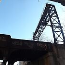 Abandoned Erie Railroad Trestle, Jersey City, New Jersey by lenspiro