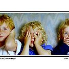 The Three (Wise?) Monkeys by oulgundog