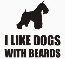 Dog Beard Schnauzer Baby Tee