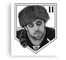 Coonskin Anze Kopitar Tee - LA Kings Canvas Print