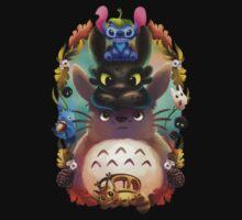 Totoro lilo Baby Tee