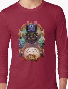 Totoro lilo Long Sleeve T-Shirt