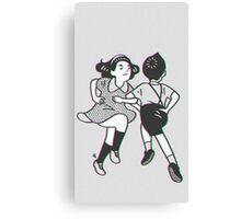 90s kid dancing Canvas Print